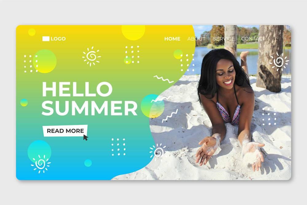 您好夏季登录页面附图_8248211