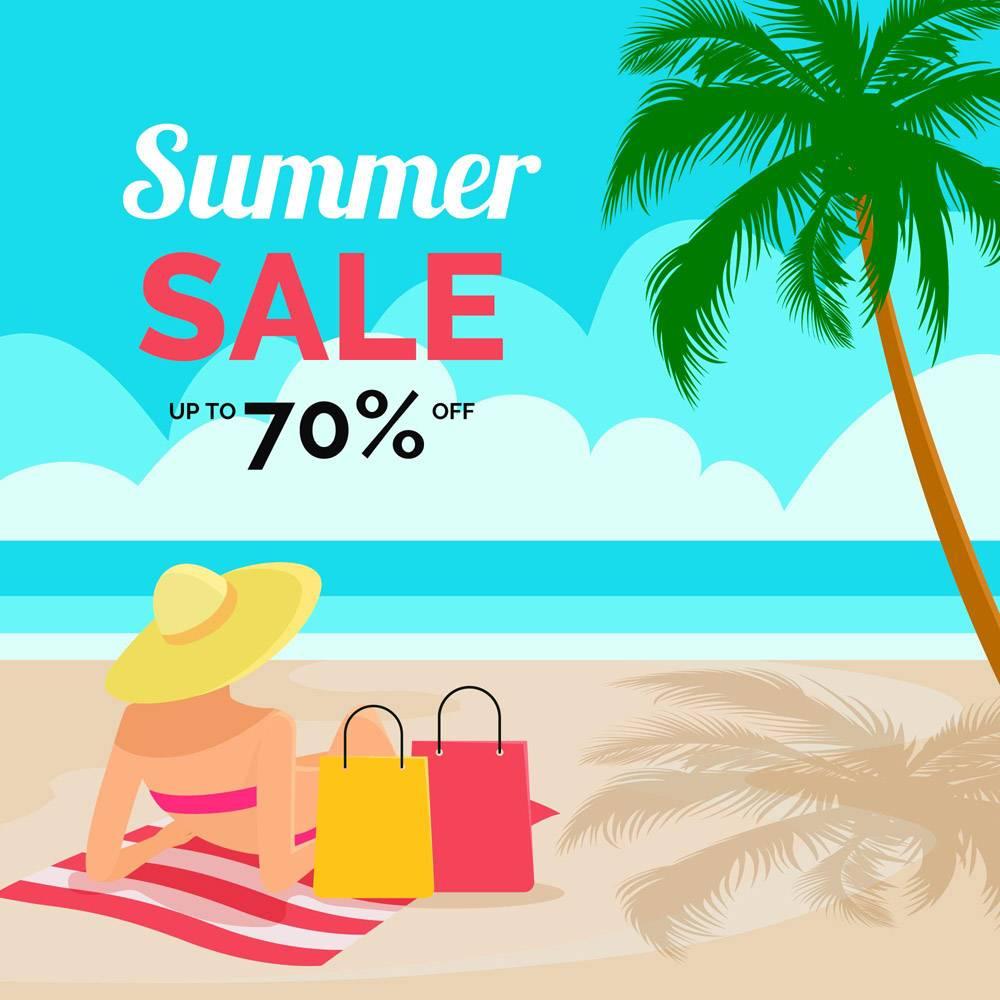 带海滩的夏季特价公寓设计_8132561