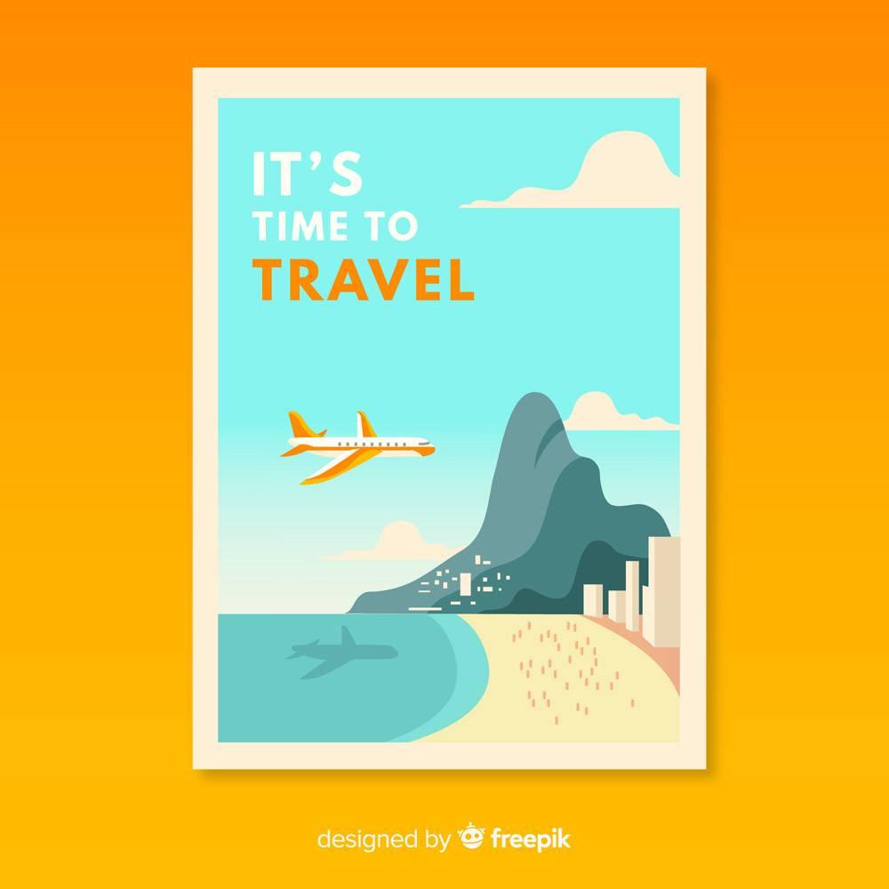 平价复古旅游促销海报_4675712