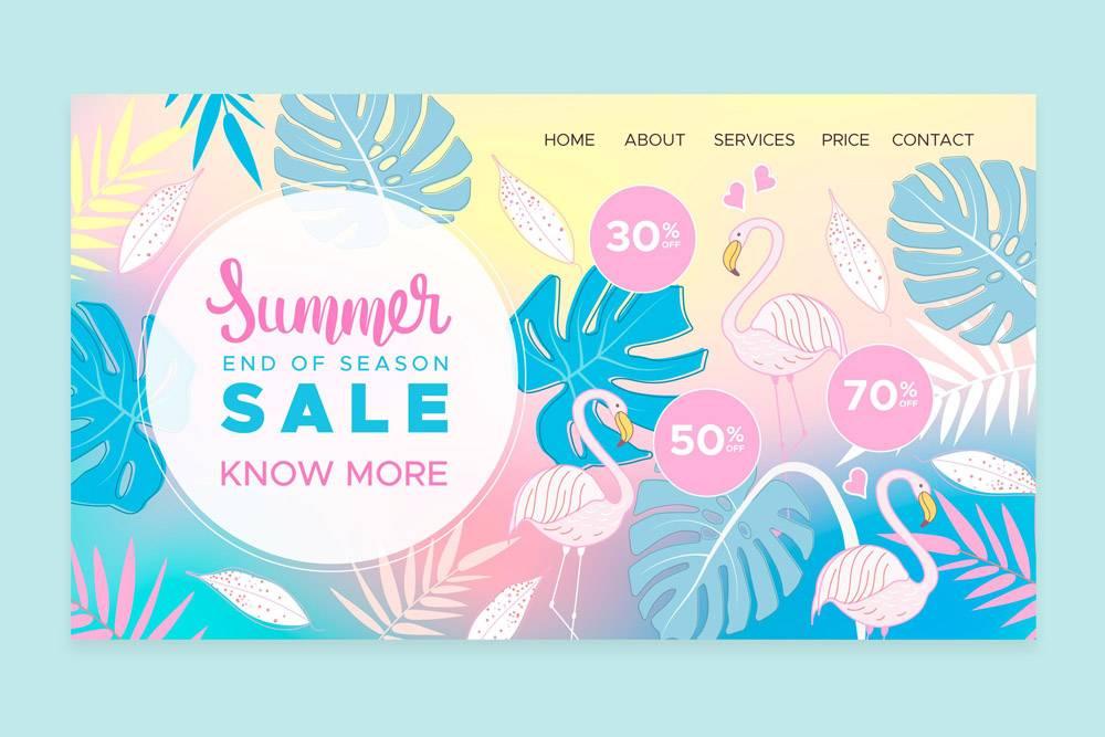 季末夏季销售登陆页面_9226647