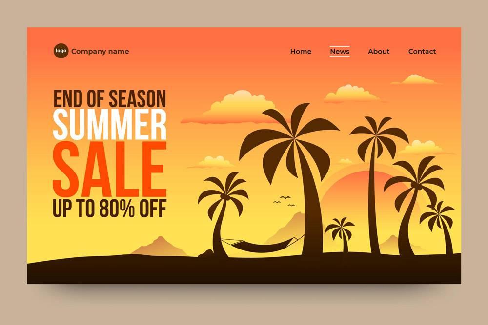 季末夏季销售登陆页面_9427579