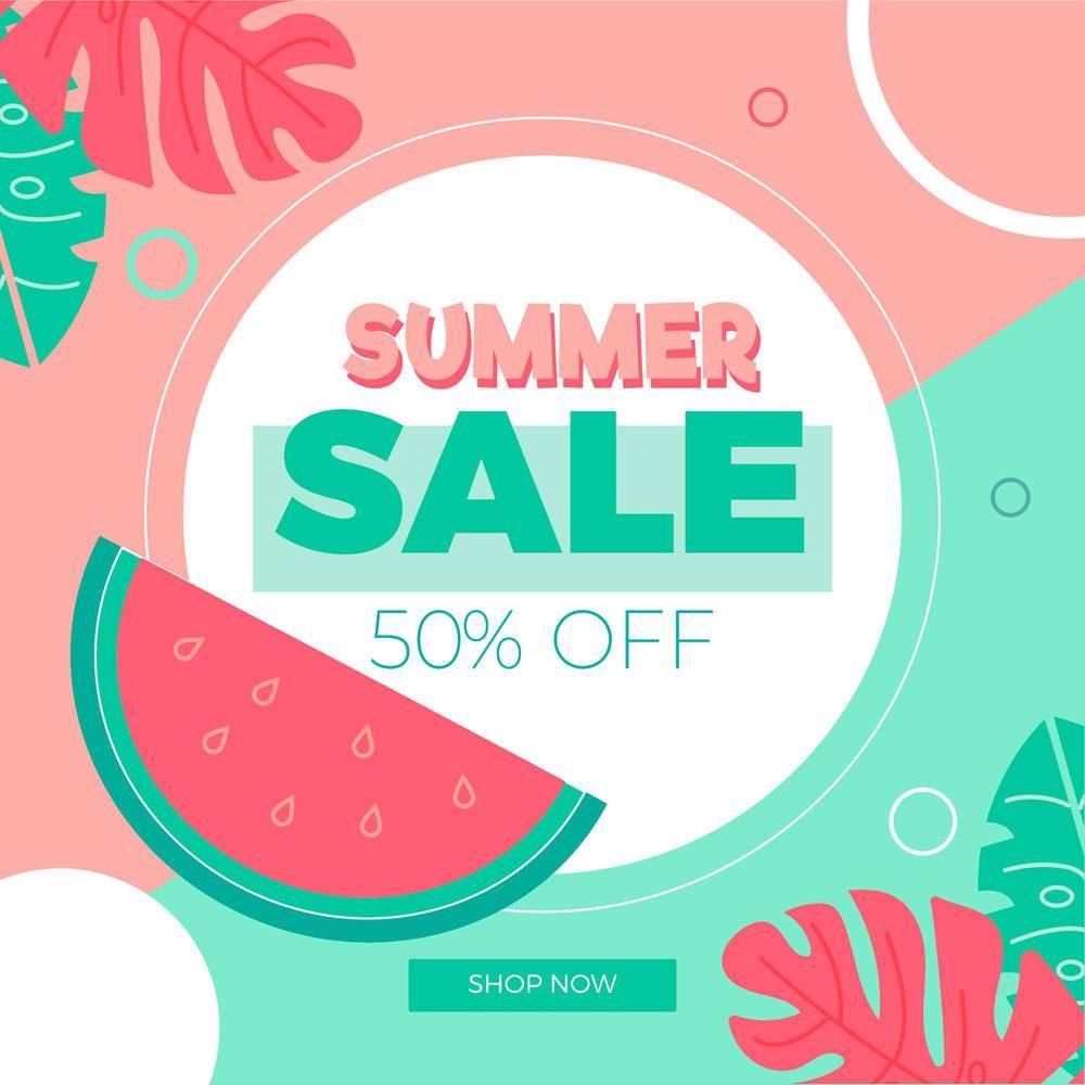 平面设计夏季促销活动_8278831