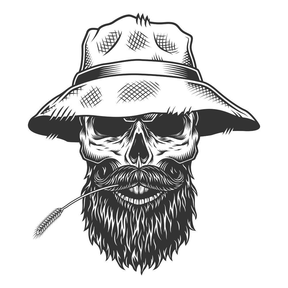 巴拿马帽子里的骷髅_8224422