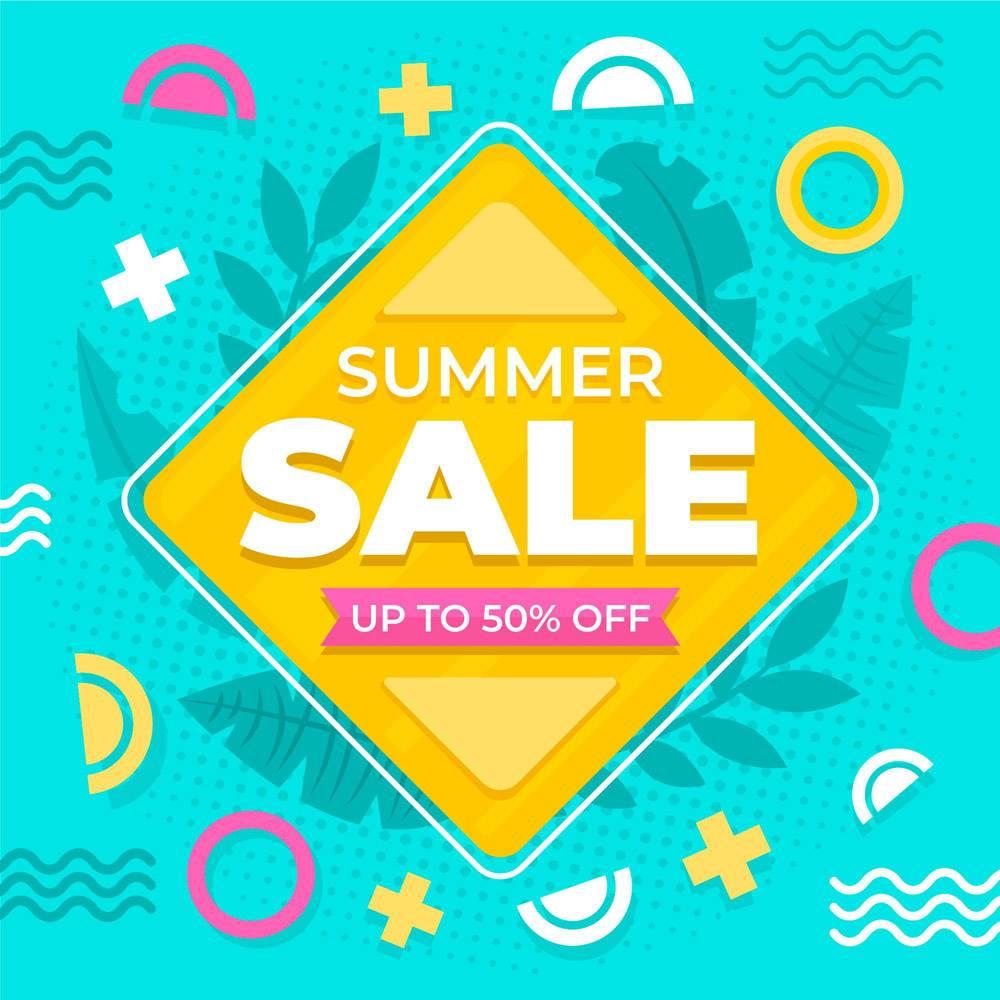 平面设计夏季特价优惠_8248237