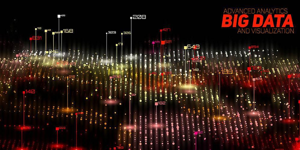 抽象3D大数据可视化未来主义信息图美学设_10667096