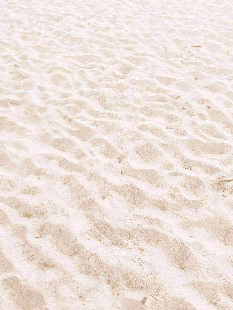 美好的海灘沙子在夏天_15848677