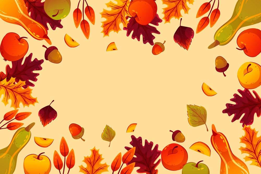 详细的秋天背景_16692440