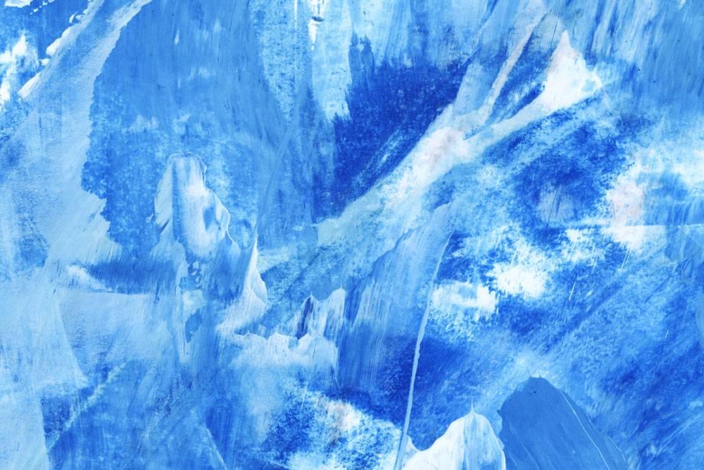 蓝色刷子冲程织地不很细背景_15438914