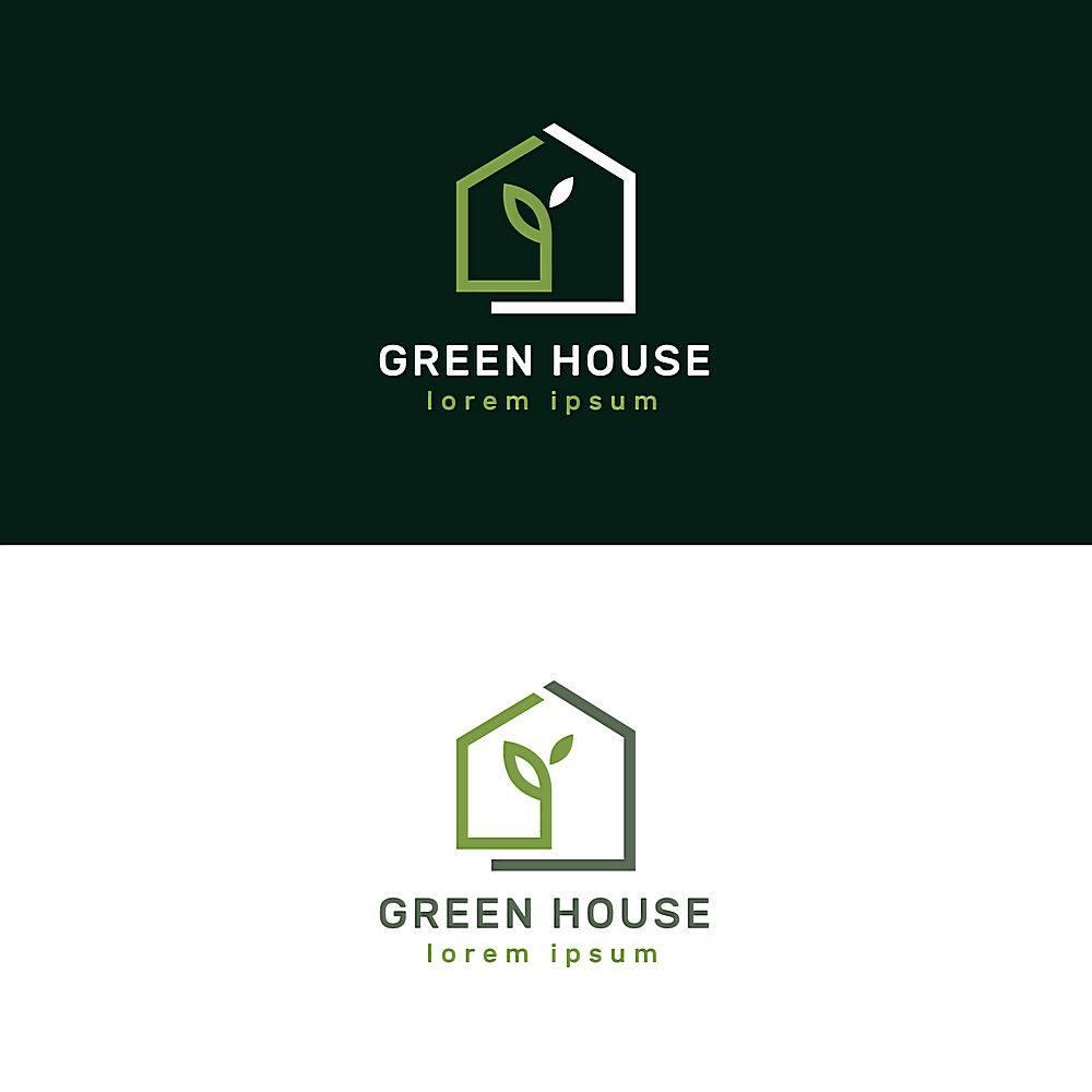 豪华和优雅的房地产标识_14095912